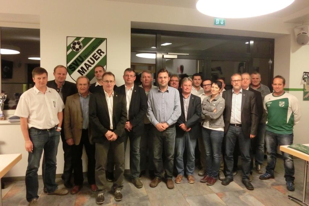 Vorstand Sportverein Union Hinterholzer Mauer-Öhling