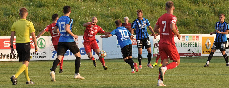 SKU Amstetten siegt gegen Oedt in Mauer mit 2:0