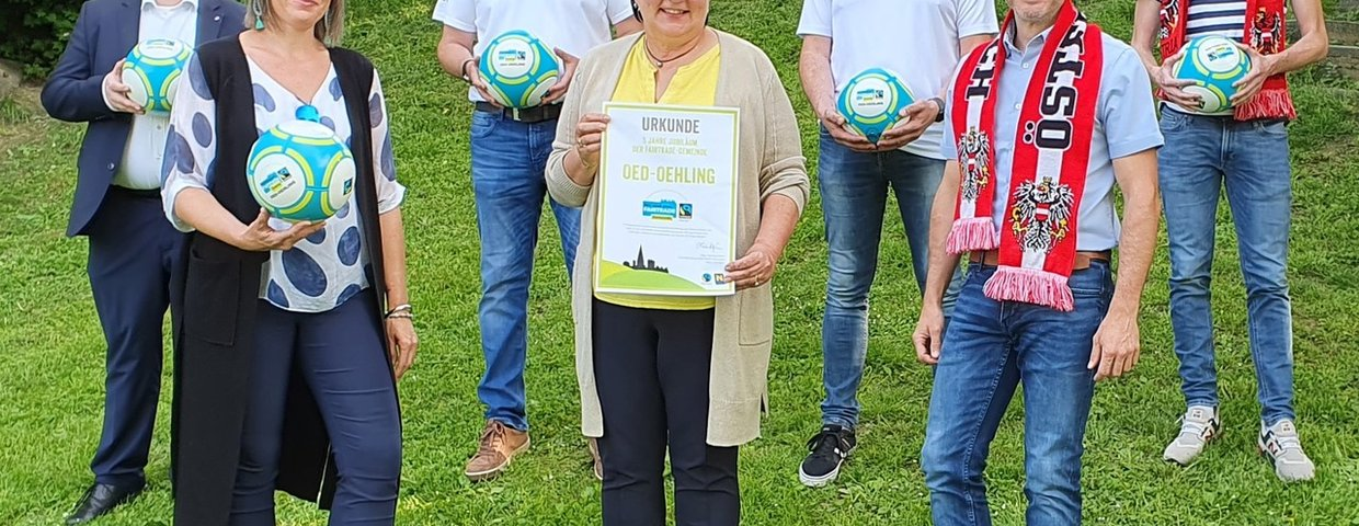 Fairtrade & Fußball verbindet in Oed-Oehling