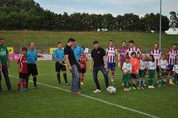 Meisterfeier und letztes Heimspiel gegen Oberndorf