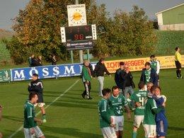 Ersehnter und auch in dieser Höhe verdienter 4:1 Sieg in Eggenburg