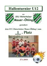 1. SVU Hinterholzer Mauer-Öhling 1 U12