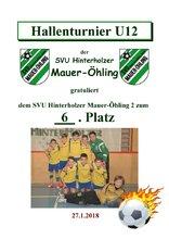 6. SVU Hinterholzer Mauer-Öhling 2 U12