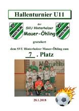 7. SVU Hinterholzer Mauer-Öhling U11