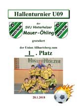 1. Union Allhartsberg U09