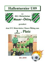 3. SVU Hinterholzer Mauer-Öhling U09