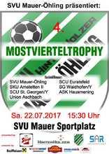 SVU Mauer Plakat Mostvierteltrophy_2017