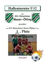 9.1. SVU Hinterholzer Mauer-Öhling 1 U12 11