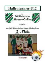 9.2. SVU Hinterholzer Mauer-Öhling 2 U12 1
